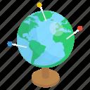 earth globe, earth map, geographical globe, globe, globe map, planet map icon