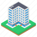 apartment, hotel building, motel, real estate, residential apartment, restaurant icon