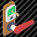 door key, door lock, handle lock, house lock, key icon