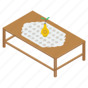 decorative table, drawing room furniture, furniture, home interior, table icon
