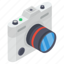 movie camcorder, photographic camera, video cam, video camera, video recorder icon
