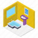 bathroom, bathroom interiors, bathroom vanities, home interior, wash basin, washroom icon