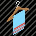 bathroom towel, reusable towel, towel holder, towel rack, towel stand icon
