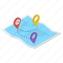 map location, map marker, navigation, pin location, pinpointer icon