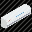 ac, air conditioner, air conditioning unit, electric appliance, indoor ac, split ac icon