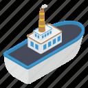 boat, cruise, maritime, ship, transport, travel icon