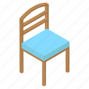 seat, wooden chair, dining chair, chair, furniture