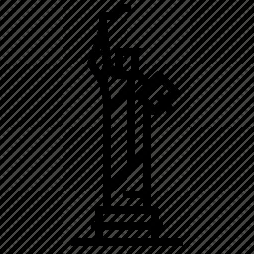 america, landmark, liberty, of, statue, usa icon