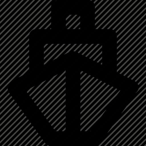 Vessel, ship, travel, boat, cruise icon