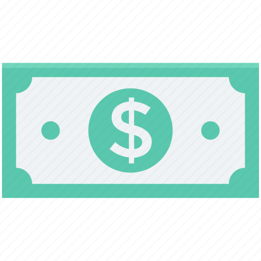 banknote, currency, currency note, dollar note, usd icon