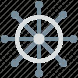 boat controller, boat steering, boat wheel, ship steering, ship wheel icon