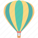 skydiving, air balloon, hot air balloon, travel, parachute balloon icon