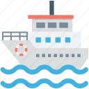 boat, cruise, shipping boat, vessel, water transport icon