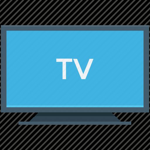 electronics, technology, tv, tv monitor, tv set icon