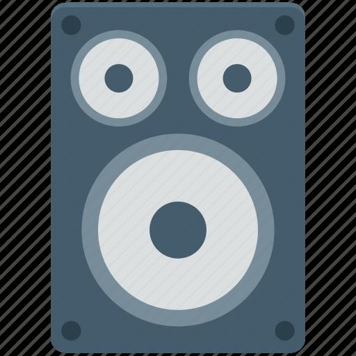 loudspeakers, music system, speaker, subwoofer, woofer icon