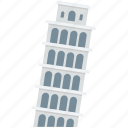 italy monument, italy tower, leaning tower, pisa tower, tourism icon