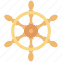 boat controller, boat steering, boat wheel, ship steering, ship wheel icon
