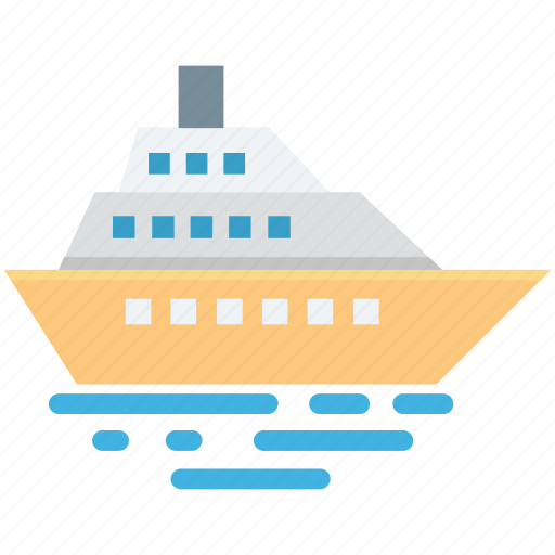 Boat, ship, steamboat, steamship, vehicle icon - Download on Iconfinder
