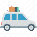 cab, public transport, taxi, taxicab, vehicle for hire icon