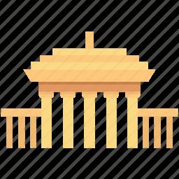 landmark, monument, royal residence, windsor, windsor castle icon