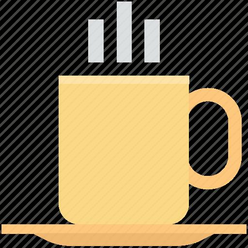 Coffee mug, hot coffee, hot drink, hot tea, tea mug icon - Download on Iconfinder