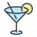 alcohol, drink, martini icon