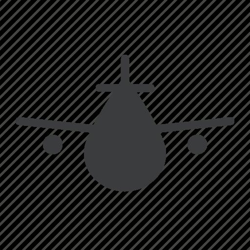 aeroplane, air, airplane, flight, fly, plane, transport icon