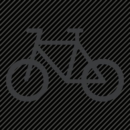 bicycle, bike, cycle, transport, vehicle icon