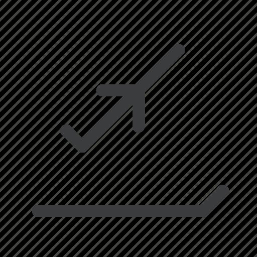 airplane, airport, departure, flight, runway, takeoff icon