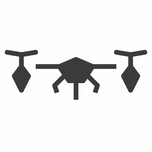 aircraft, drone, vehicle icon