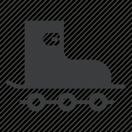roller, shoe, skate, skating icon