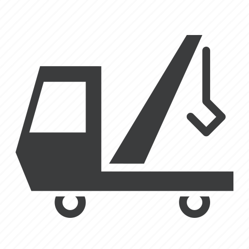 tow, truck, vehicle icon