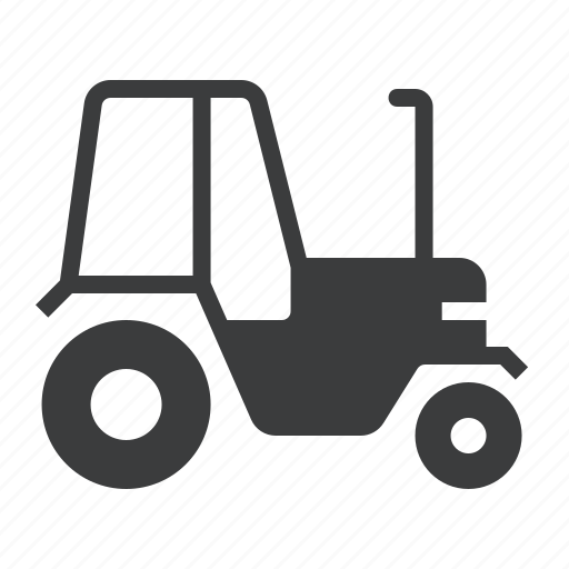 agriculture, farm, tractor, vehicle icon