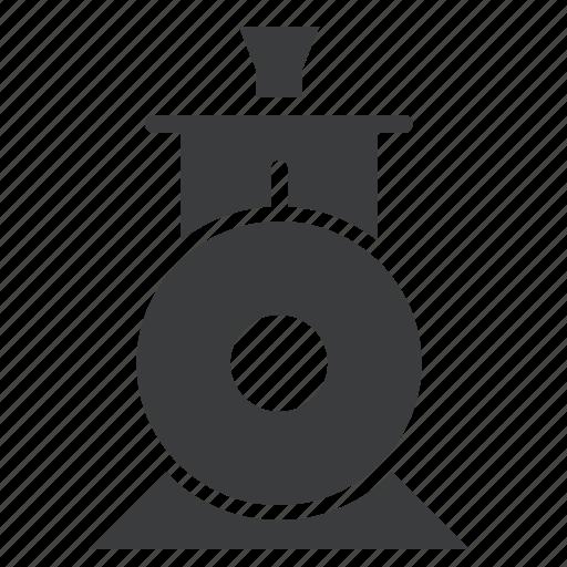 engine, locomotive, steam, toy, train, transport icon