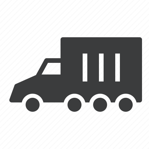 cargo, carrier, transport, truck, van icon