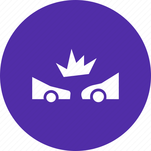 accident, car, collision, crash, insurance icon