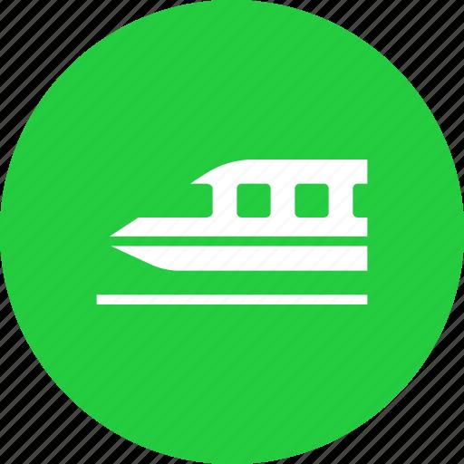bullet, speed, train, transport, travel icon