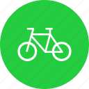 bicycle, bike, cycle, transport, vehicle icon