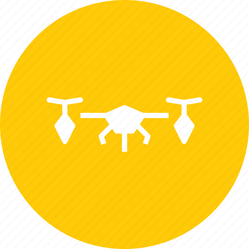 aircraft, drone, unmanned, vehicle icon