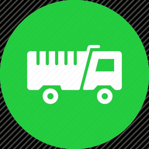 dump, lorry, tipper, truck icon
