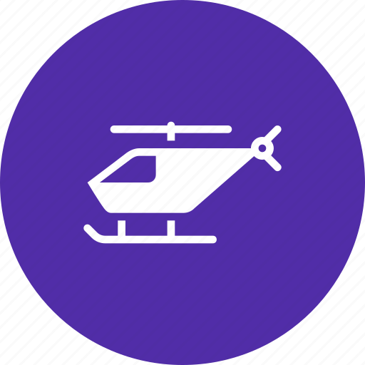 air, fly, helicopter, transport, travel icon