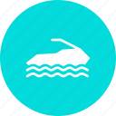 jet, recreation, ski, skiing, sport, vacation, water icon