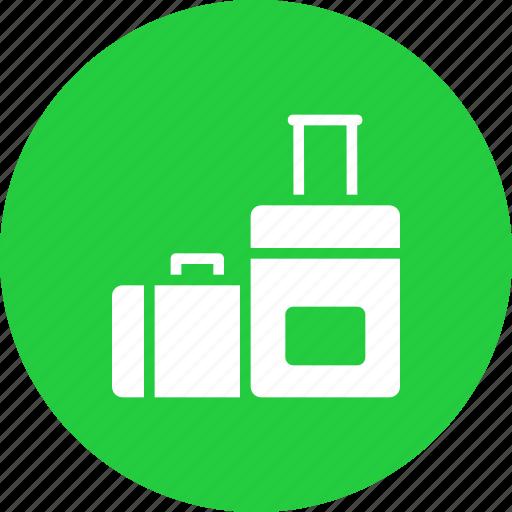 holiday, luggage, suitcase, travel, vacation icon