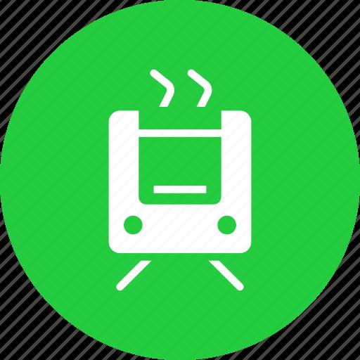 electric, metro, public, train, transport, transportation icon
