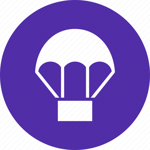 adventure, air, balloon, fly, parachute, skydiving icon