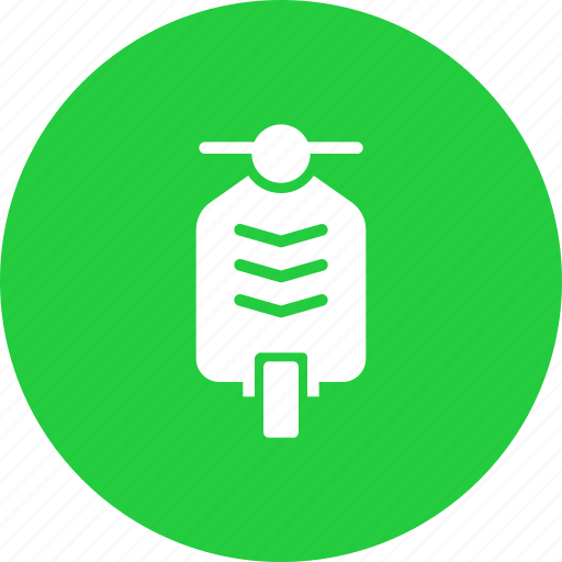 scooter, transport, travel, vehivle icon