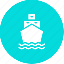 sail, sailing, ship, transport, travel, water icon