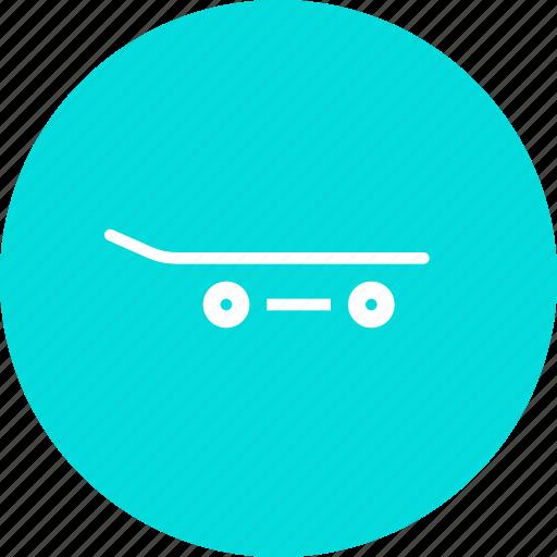 board, skate, skating icon