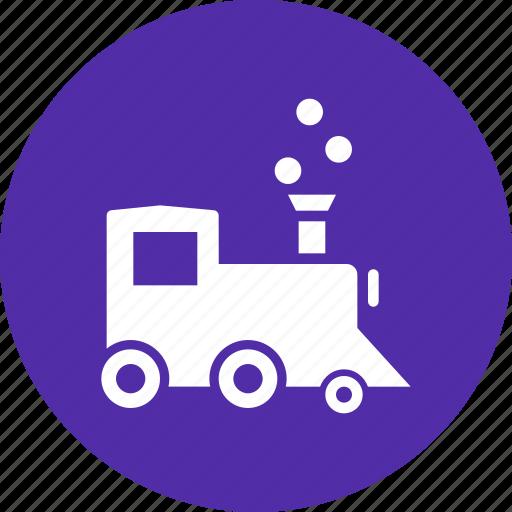 engine, locomotive, steam, train icon