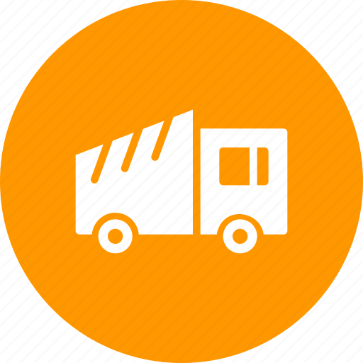 construction, dump, garbage, lorry, tipper, truck, vehicle icon